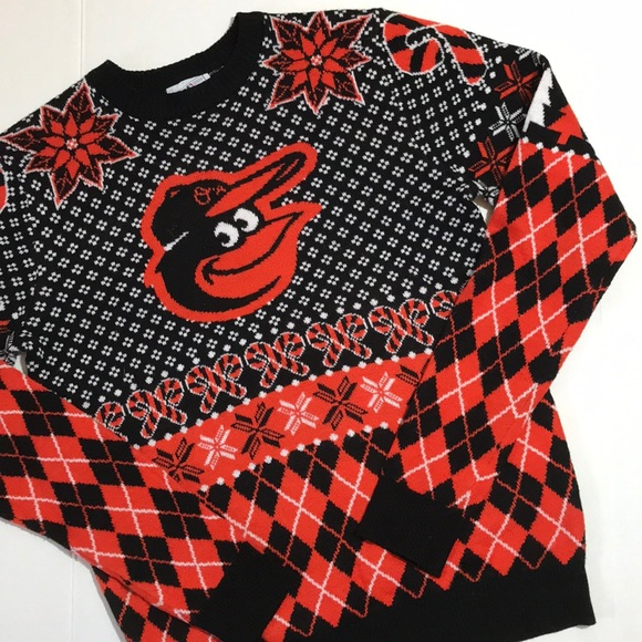 14571330bfeb MLB Sweaters | Baltimore Orioles Ugly Christmas Sweater | Poshmark